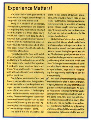 Cats Magazine (1999)