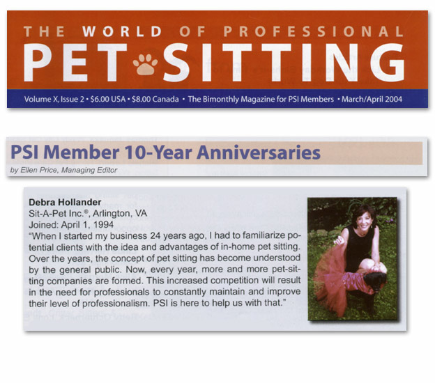 World of Professional Pet Sitting (2004)
