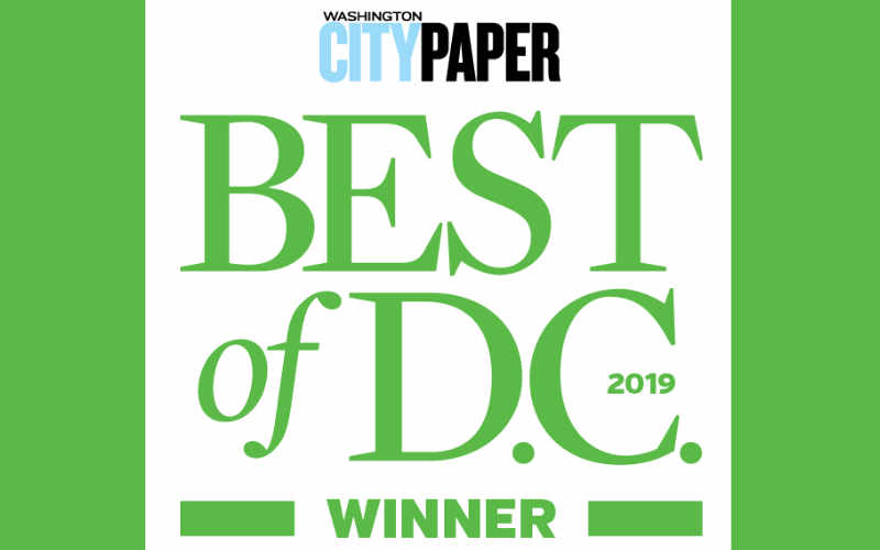 Washington City Paper Redaer's Choice