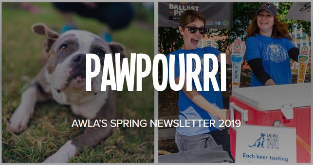 AWLA's Pawpourri Newsletter 2019