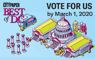 Washington City Paper Redaer's Choice